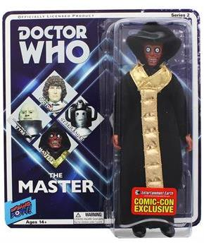 "Doctor Who The Master Retro Clothed 8"" Action Figure"