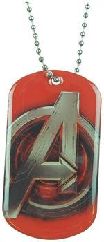 Avengers: Age Of Ultron Logo Dog Tag Necklace