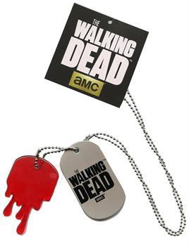 The Walking Dead Metal Dog Tag Necklace
