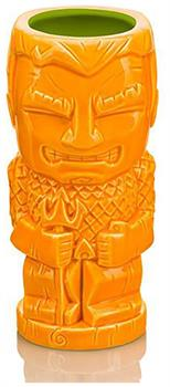 DC Comics Aquaman 16oz Geeki Tiki Mug, Orange