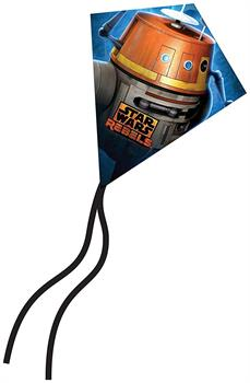 "Star Wars X-Kites 7.5"" MicroDiamond Kite: Chopper"