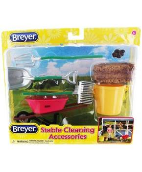 Breyer 1:12 Classics Stable Cleaning Model Horse Accessory Set