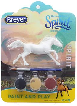 Breyer Spirit Riding Free Paint and Play Kit: Spirit