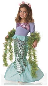 Lil' Mermaid Costume Child Toddler