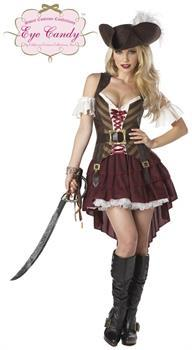 Sexy Swashbuckler Costume Adult