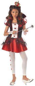 Queen Of Hearts Costume Child Tween