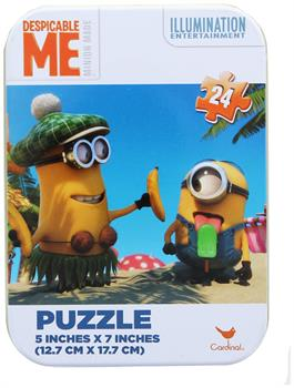 "Despicable Me 24-Piece 5""x7"" Puzzle with Collectible Tin"