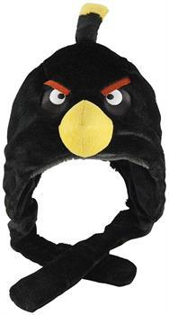 Angry Birds Plush Hat: Black Bird