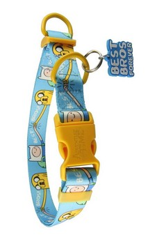 Adventure Time Best Bros! Adjustable Nylon Dog Collar