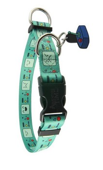 Adventure Time BMO Faces Adjustable Nylon Dog Collar