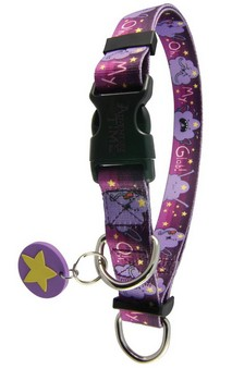Adventure Time Lumpy Space Princess OMGlob Adjustable Nylon Dog Collar