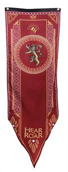 "Game of Thrones House Lannister 20"" x 60"" Fabric Tournament Banner"