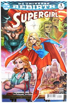 DC Universe Rebirth Supergirl Comic Book Issue # 1