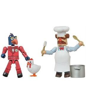 Muppets Minimates Series 1 2-Pack: Gonzo & Swedish Chef