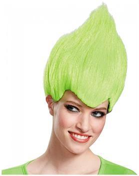 Trolls Green Wild and Wacky Vibrant Costume Wig Adult
