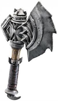 Warcraft Durotan's Costume War Axe Adult One Size