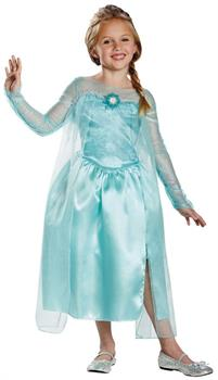 Frozen Disney Classic Elsa Snow Queen Gown Child Costume