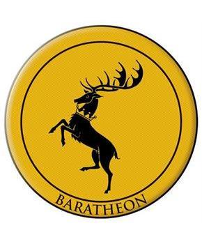 Game Of Thrones Crest Patch: Baratheon