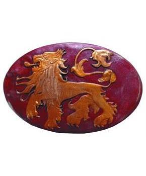 Game Of Thrones Metal Shield Pin Lannister