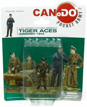 1:35 Combat Figure Series 5 Tiger Aces Normandy 1944 Figure E Georg