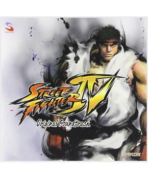 Street Fighter IV Original Soundtrack CD
