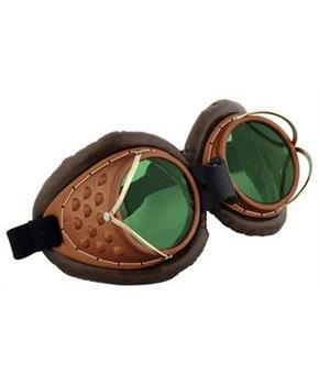 Steampunk Machinist Costume Goggles