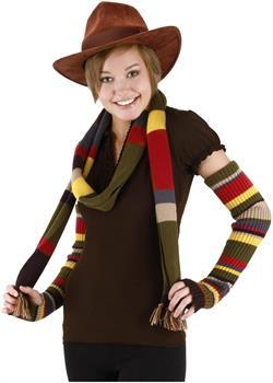 Doctor Who The 4th Doctor Costume Hat Brown Adult