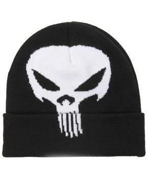 Marvel Punisher Costume Beanie Hat