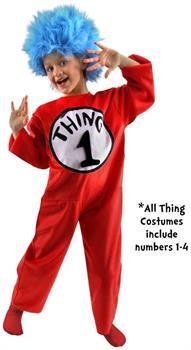 Dr. Seuss Thing Costume Child