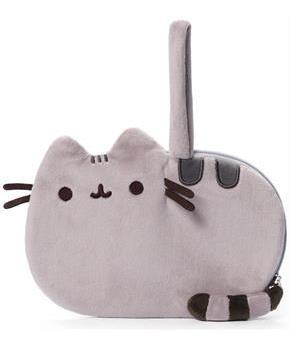 "Pusheen The Cat 8"" Plush Wrist Purse"