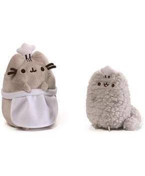 "Pusheen and Stormy 8.5"" Plush Collector Set: Baking"