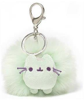 "Pusheen 4"" Poof Keychain: Pastel Mint"