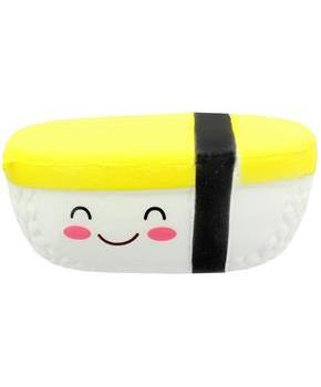 Tamago Egg Smiling Sushi Foam Squishy Toy