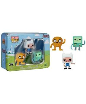 Adventure Time Pocket POP 3-Pack Tin: Jake, Finn and BMO