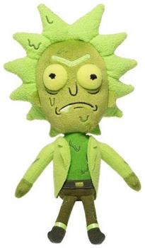 "Rick and Morty 8"" Funko Galactic Plushies: Toxic Rick"