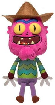 "Rick and Morty 8"" Funko Galactic Plushies: Scary Terry"