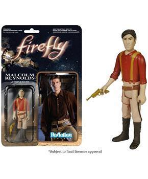 "Reaction Firefly Malcolm Reynolds 3.75"" Action Figure"
