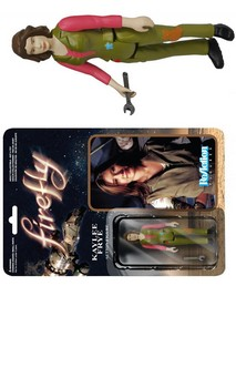 "Firefly Funko ReAction: 3 3/4"" Kaylee Frye Action Figure"