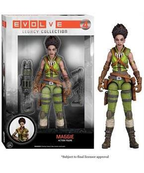 "Evolve Funko Legacy 6"" Action Figure Maggie"