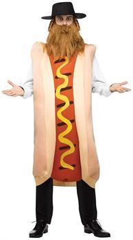 Kosher Hot Dog Adult Costume One Size Fits Most