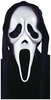 Ghost Face Adult Costume Mask w/ Shroud