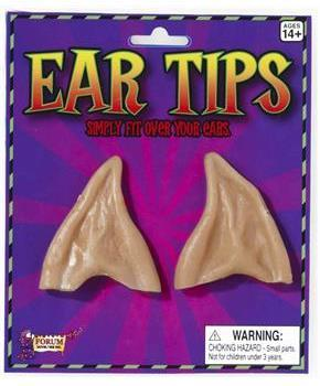 Pointed Beige Costume Ear Tips