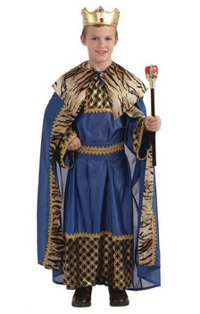 Boys Biblical Times King Of The Kingdom Costume Child
