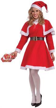 Mrs. Santa Claus Adult Female Christmas Costume