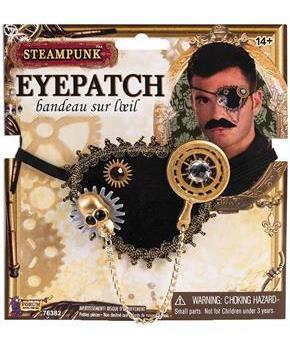 Steampunk Eyepatch Costume Accessory Adult