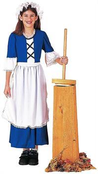 Colonial Girl Child's Costume