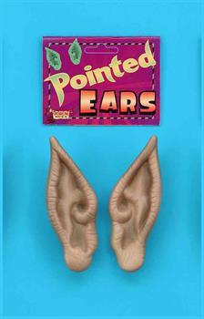 Prosthetic Pointed Flesh-Colored Costume Ears