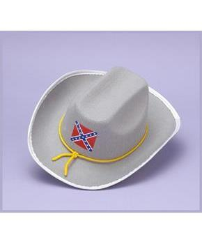 Confederate Army Soldier Officer Adult Costume Hat