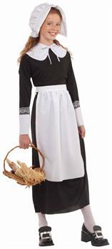 Thanksgiving Pilgrim Girl Costume Accessory Set Child One Size