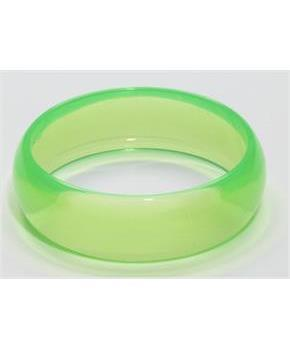 Club Candy Transparent Costume Bracelet: Green